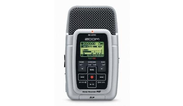 Ses için yukarıdaki gibi harici kayıt cihazları da bulunuyor.