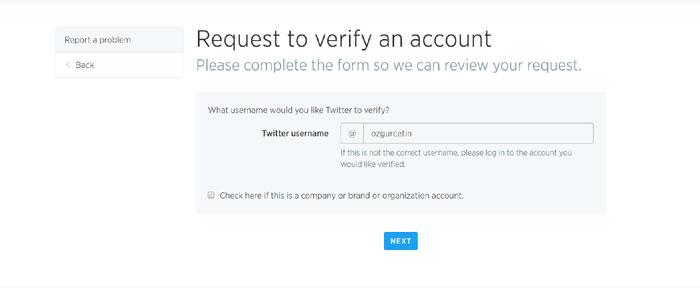 Twitter'da nasıl onaylı oldum