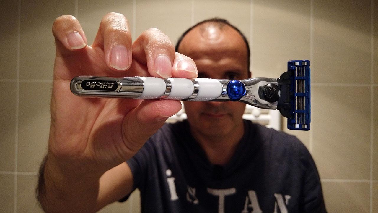Gillette Mach3 Turbo 3D ile tıraş oldum